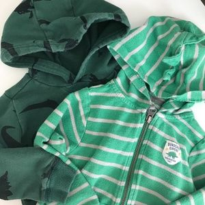 3/$20 Carters 24 M Sweatshirt Bundle